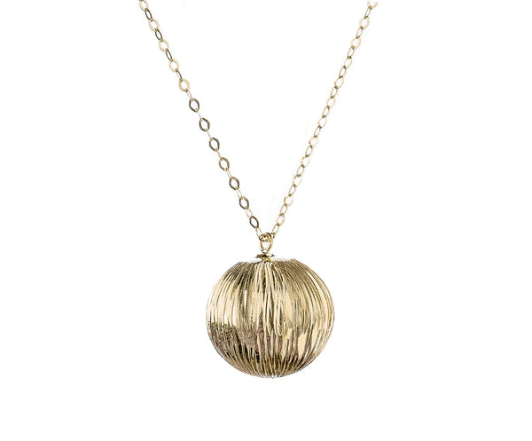 COLLAR SPHERE ORO 18k