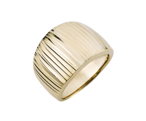 Anillo en oro amarillo de 18k de Rhapsody Jewels