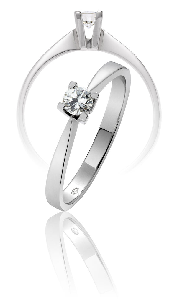 SOLITARIO ETERNITY 0,4 CT.