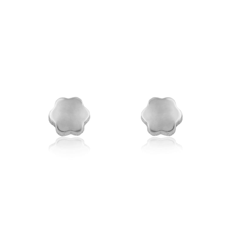 Pendientes de oro blanco de 18 kilates de Rhapsody Jewels