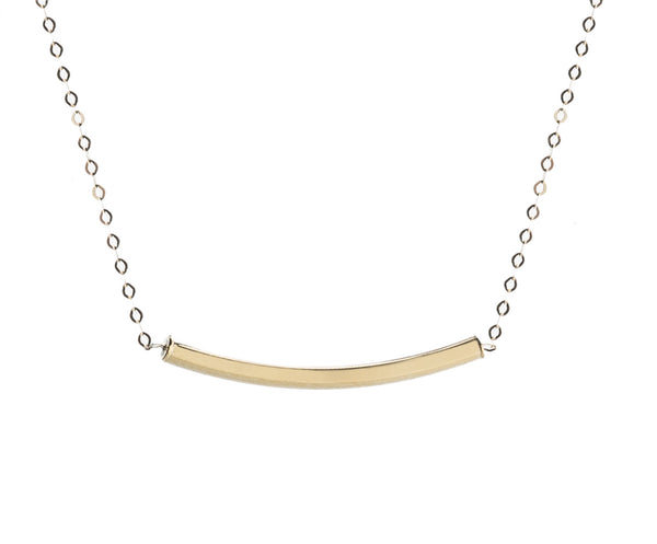 COLLAR SMILE ORO 18k