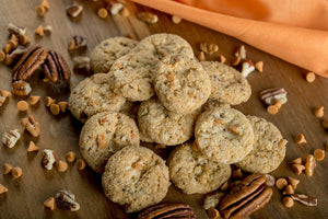 NW Florida Ballet Academie - Classic Minis - Butterscotch Pecan Pre-Baked Cookies