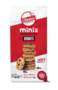 Workman Middle - Classic Minis - Chocolate Chip with Hersheys Pre-Baked Cookies
