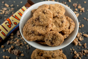 Lott Middle - Classic Minis - Toffee Chocolate Chip with Heath Pre-Baked Cookies