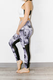Kingman Tight in Royal Marble Print