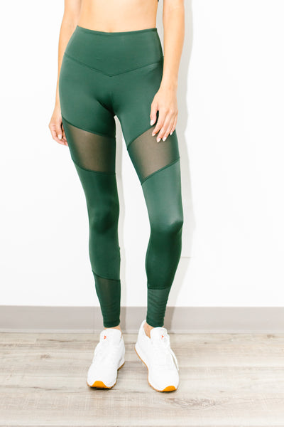 Natural Forces Legging in Green