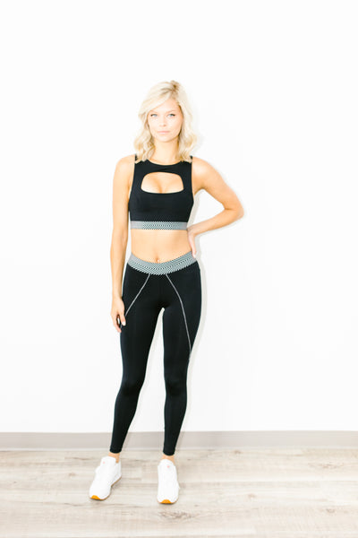 Alma Full Length Legging in Jet