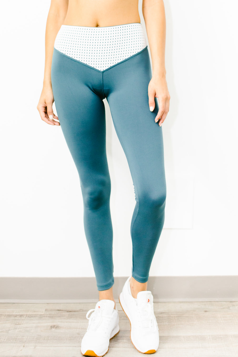 Mateo Full Length Legging in Teal