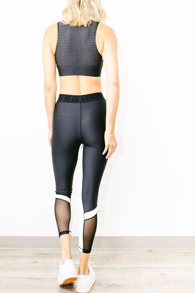 Cora 7/8 Legging in Black