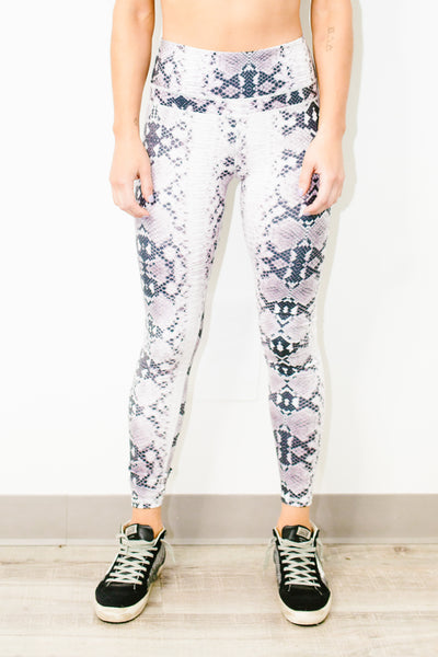 Biona Tight in Monochrome Snake