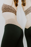 Mateo Full Length Legging Mesh Block