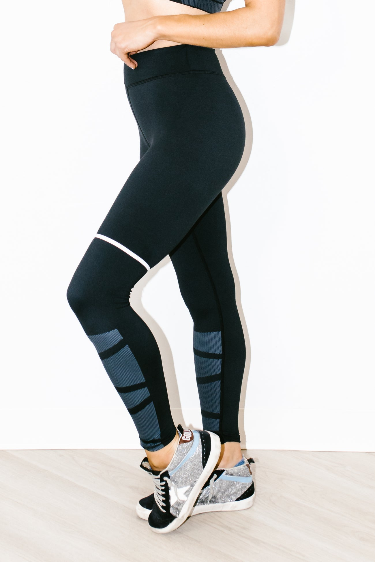 Bobbi Legging in Jet Black