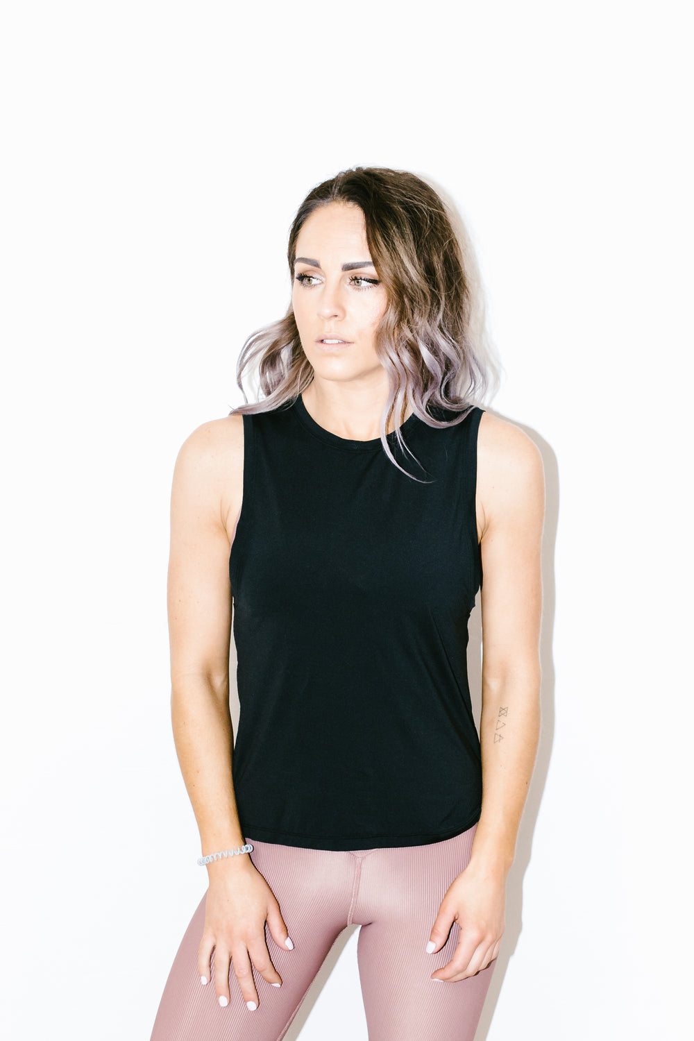 Skimm Tank in Black