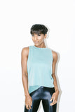 Muscle Marlow Tank in Aquamarine