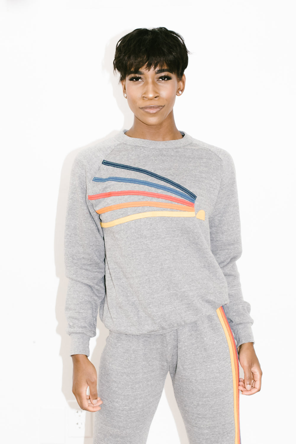 Daydream Crew Sweatshirt in Heather Grey