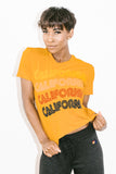 California Repeat Boyfriend Tee