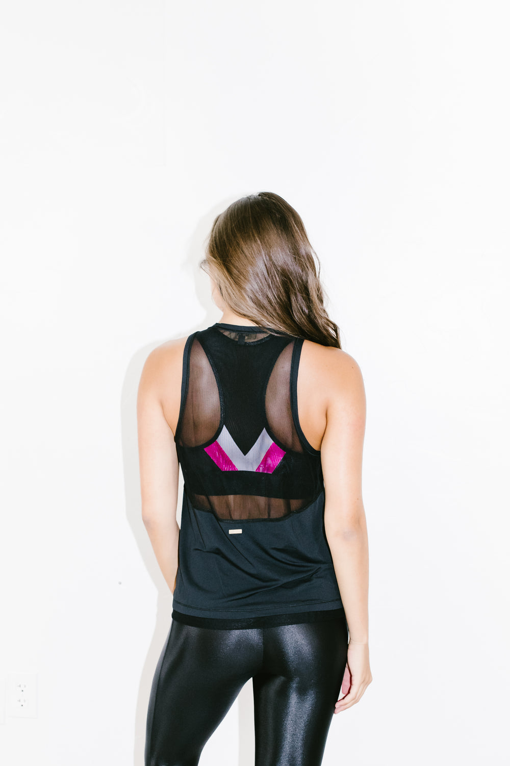 Pace Tank in Black
