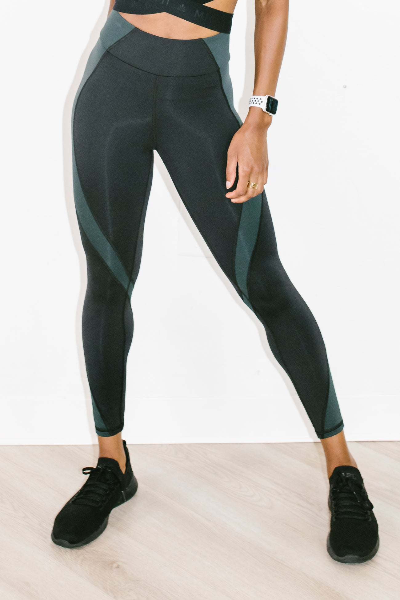 Stellar Legging Black + Forest