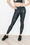 Ultra High Knockout Leggings in Nero Matte Nero