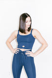 Kendall Knot Tank in Navy