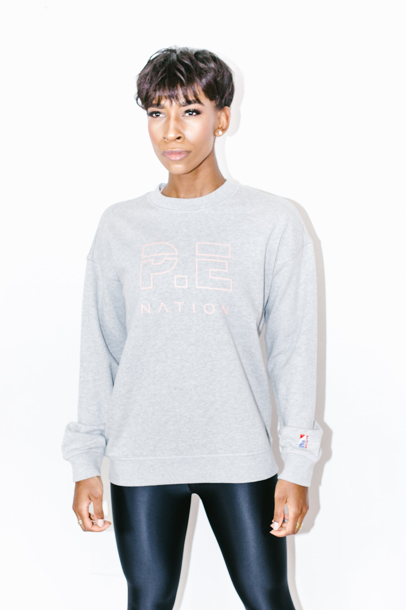Heads up Sweat in Grey