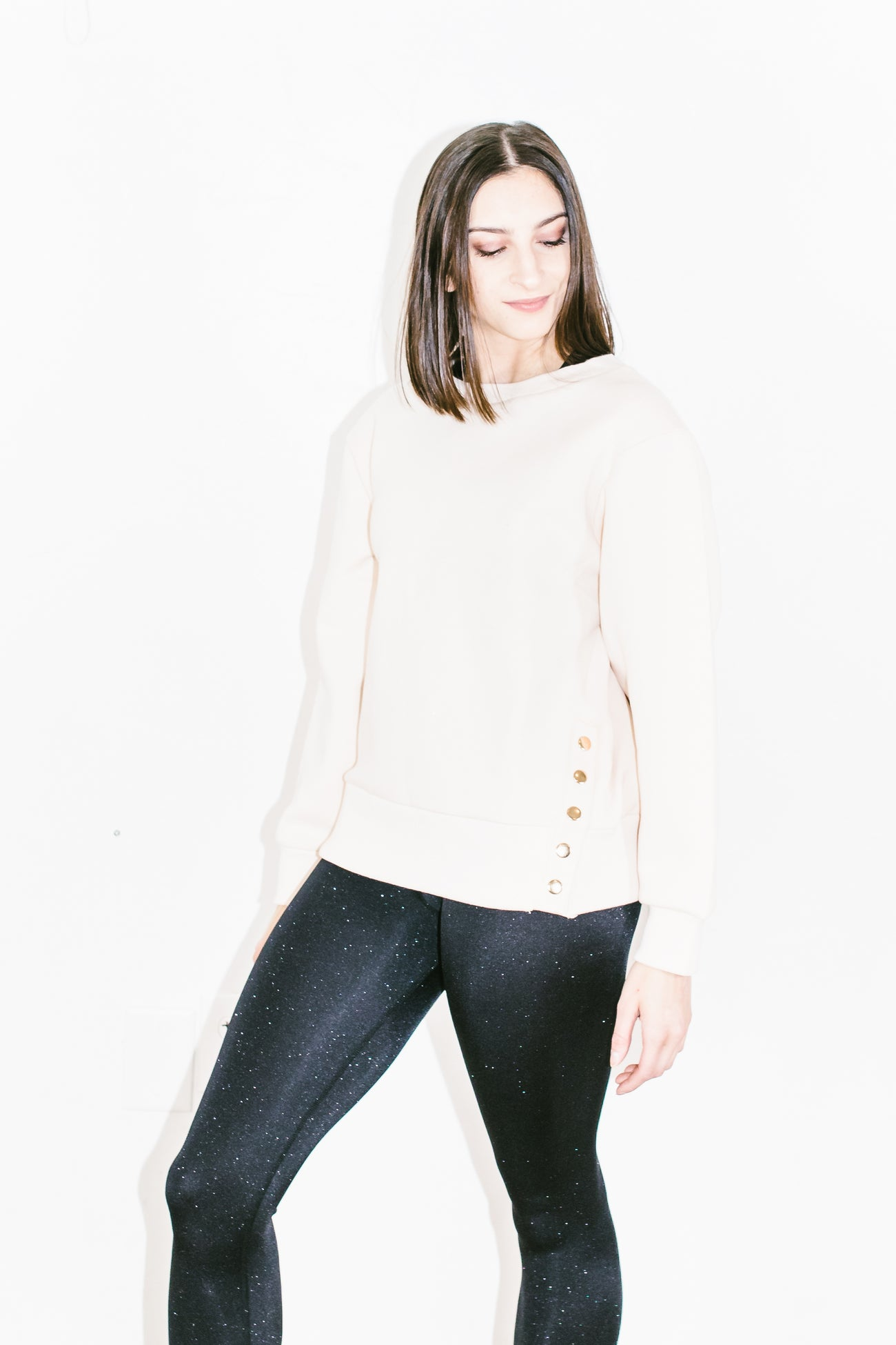 Hardy Sweater in Whisper Pink