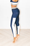 Osier Legging in Fog + Navy