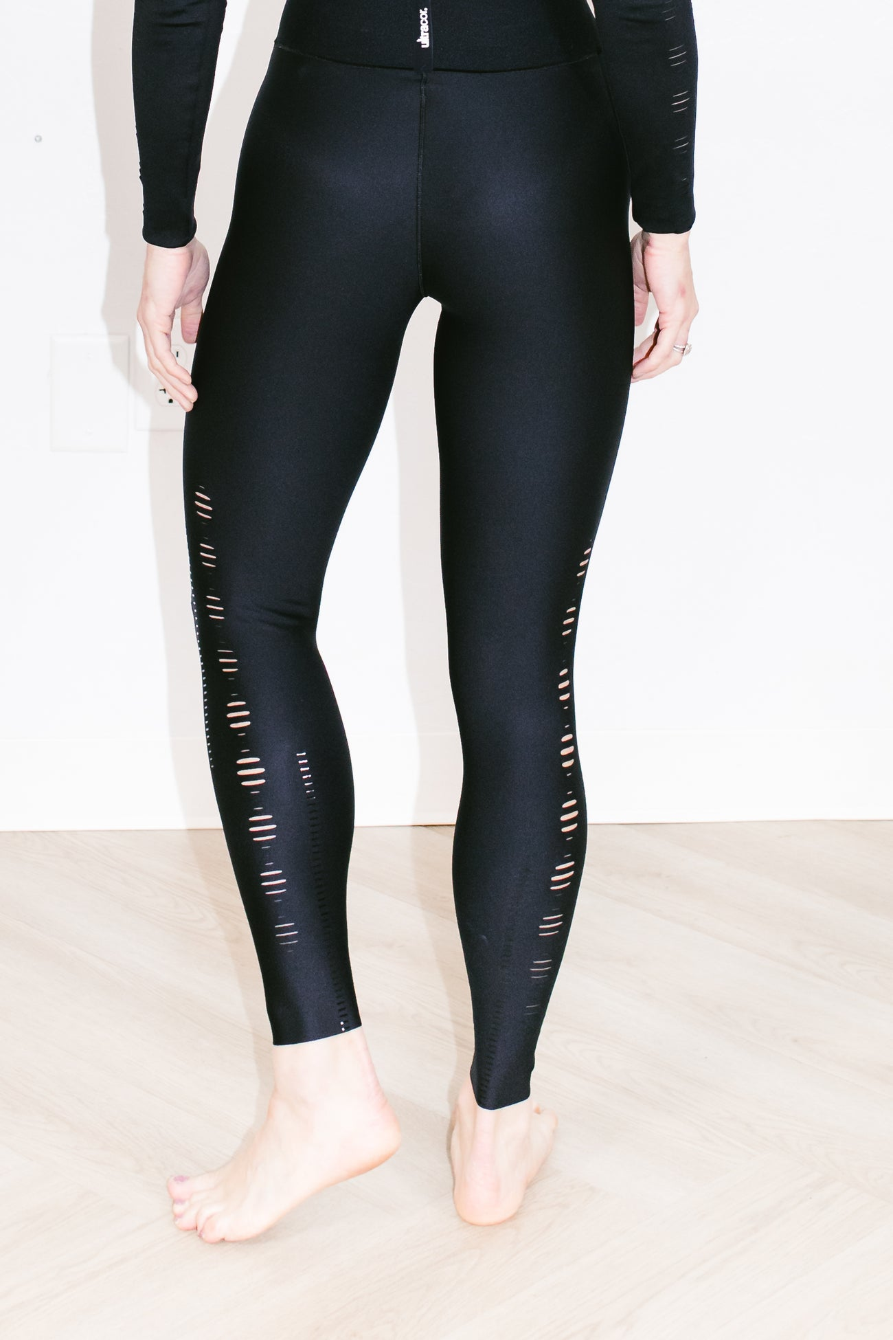 Ultra High Crescendo Legging Nero Patent Nero