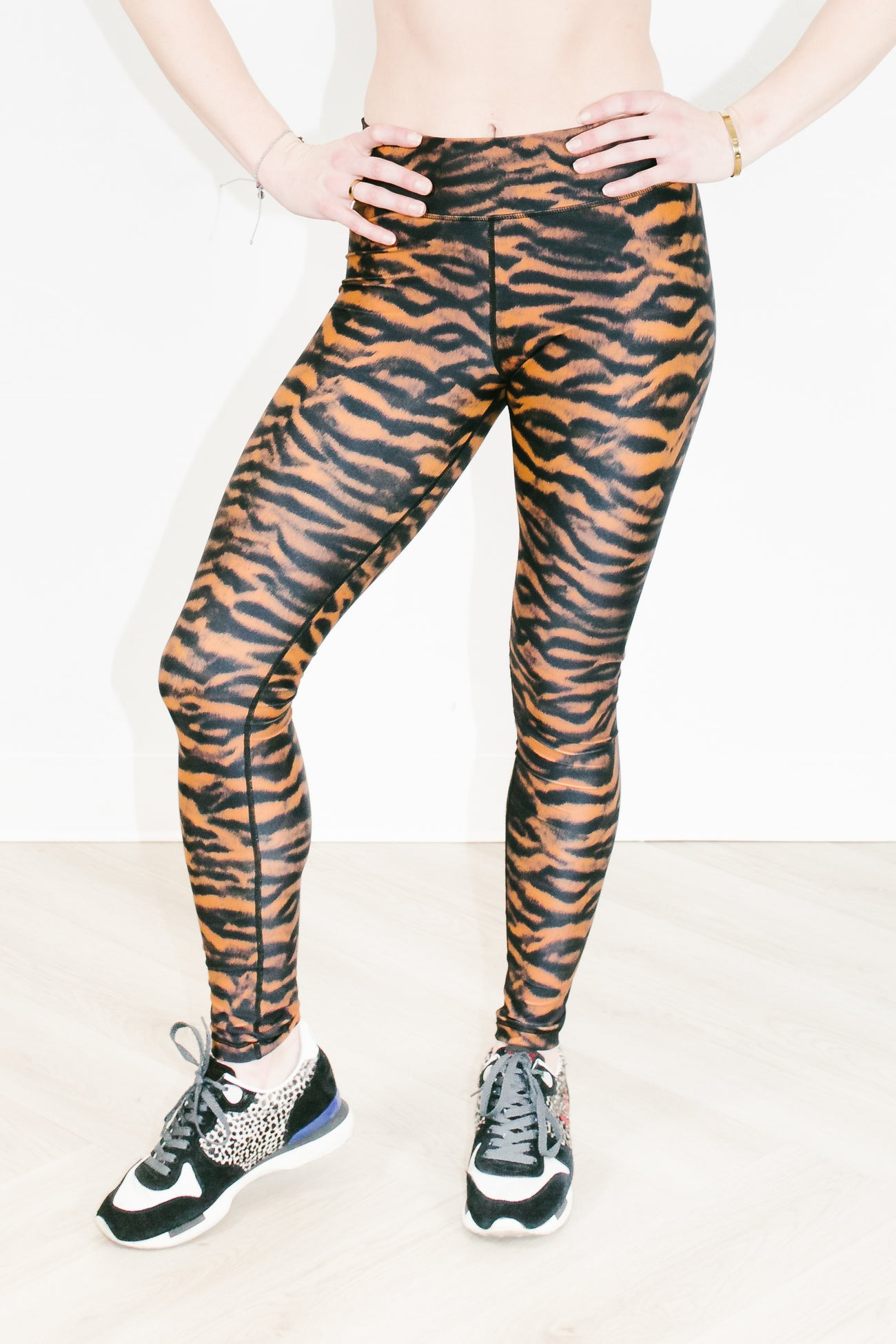 Tiger Yoga Pant in Tiger Leopard