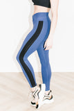 Racer Legging in Navy