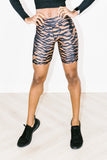 Tiger Spin Short in Tiger Leopard