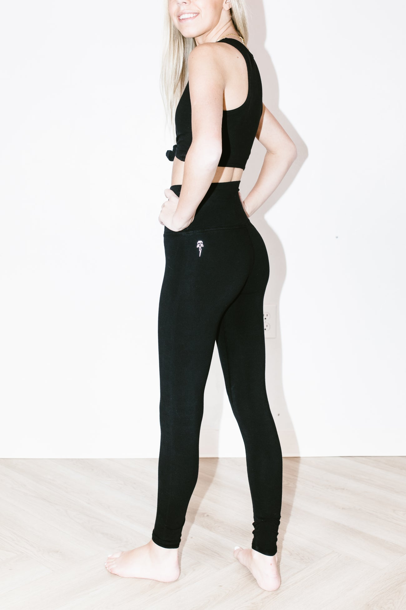 Sunset Legging in Onyx