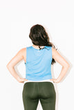Leona Tank in Light Blue