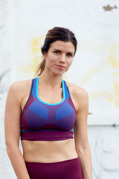 Hustle Knitted Sports Bra