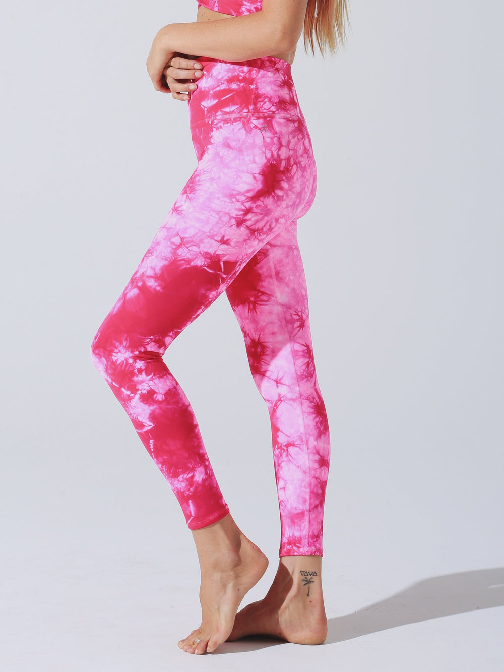 Venice Legging in Crystalline Wash Aurora