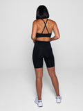 High Rise Bike Short Black