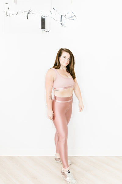 Rhythm Legging in Blush Gloss