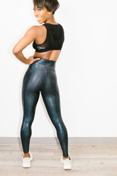 Marvel Legging in Graphite