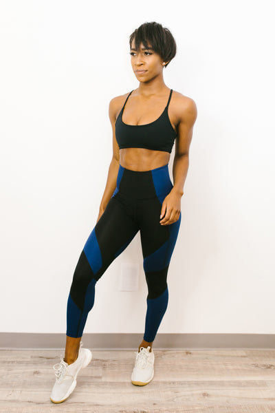 Instructor Legging in Navy/Black