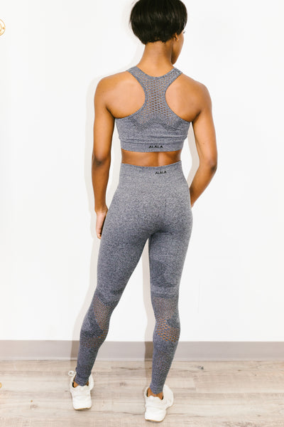 Camo Seamless Tight in Charcoal