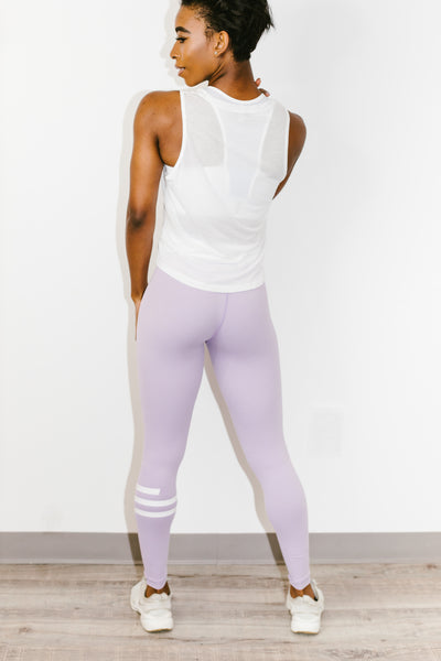 Giselle Legging in Lilac Frost