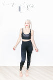Piper Legging in Black Leopard
