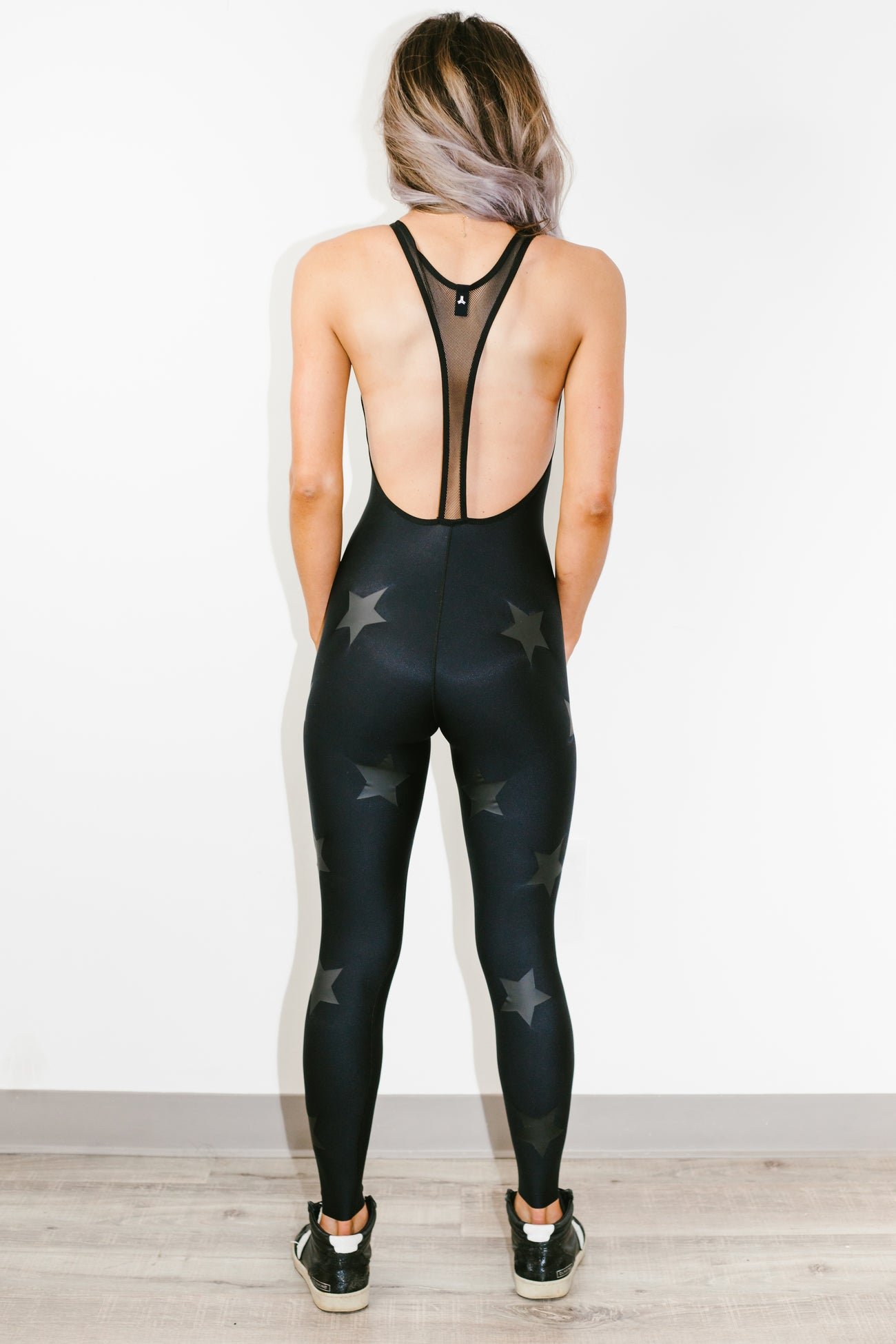 Motion Lux Knockout Unitard Nero Matte