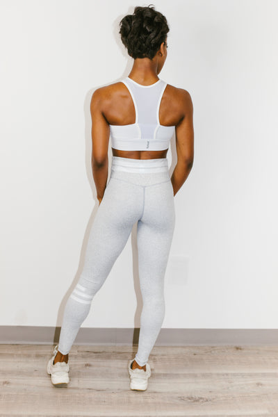 Giselle Legging in White Eclipse