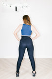 Thermal Football Legging in Black