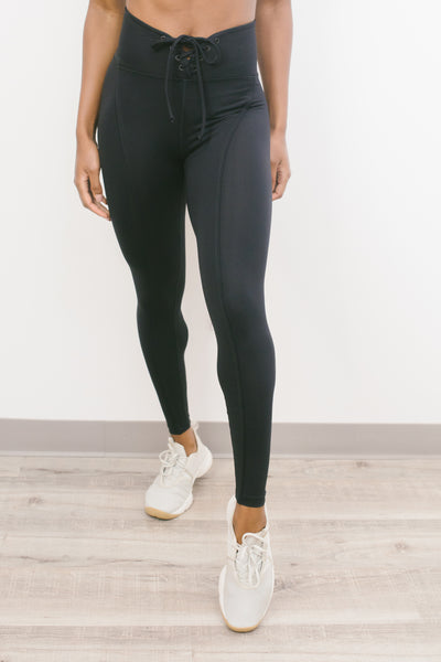 Football Legging in Black