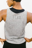 Studio Tank in Heather Grey