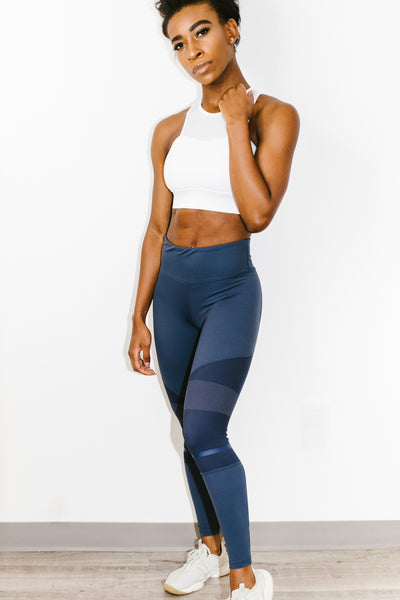 Amber Legging in Graphite