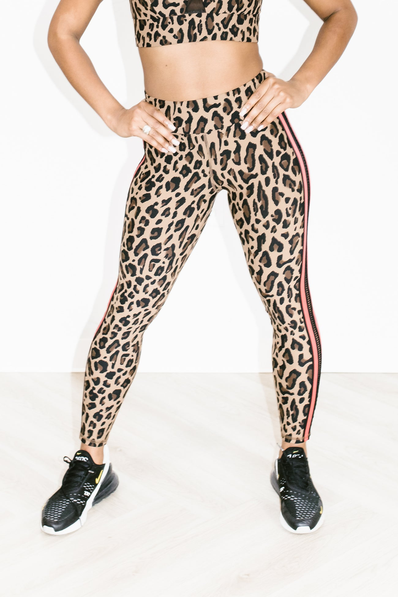 Strike Legging in Leopard
