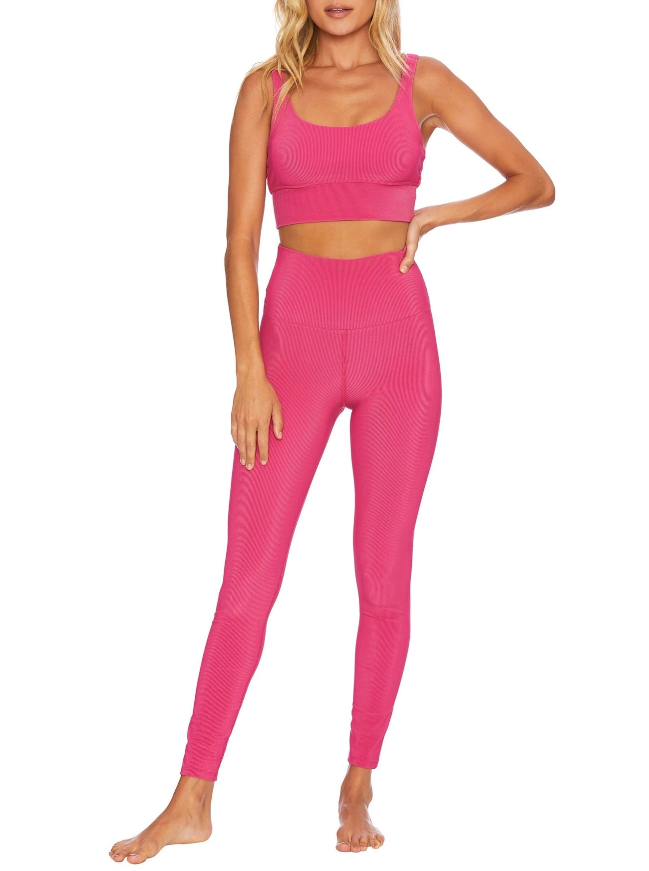 Ayla Legging in Fuchsia